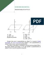 Geometrie Descriptiva CURS 2