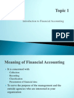 Topic 1 Intro to Fin Acc