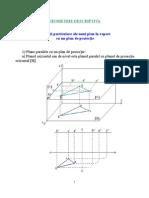 Geometrie Descriptiva CURS 7