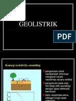 Geolistrik Sounding