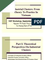Clusters in Vietnam