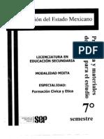 Organizacion Del Estado Mexicano 7 Fce