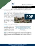 Nu Flow Sant Pau Heritage Site - Print Quality
