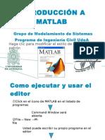 Clase 08 - Introduccion Al MATLAB