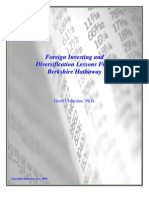 Foreign Investing and Diversification Lessons from Berkshire Hathaway