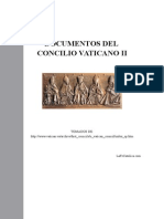 DOCUMENTO DEL CONCILIO VATICANO II