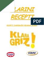 KLARINI RECEPTI - recepti zagrebačke pekarne Klara.pdf