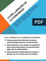 Autonomia y desinstitucionalizacion