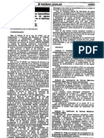 DS 021-2009 VIVIENDA aprueban Valores Máximos Admisibles alc no Sanitario