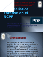Criminalistica Reforma Procesal