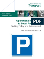 DoT Parking Policy and Enforcement 2010