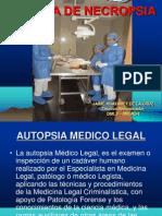 Diapositiva de Tecnica de Necropsia
