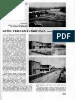 Győr Versenyuszodája, 1938