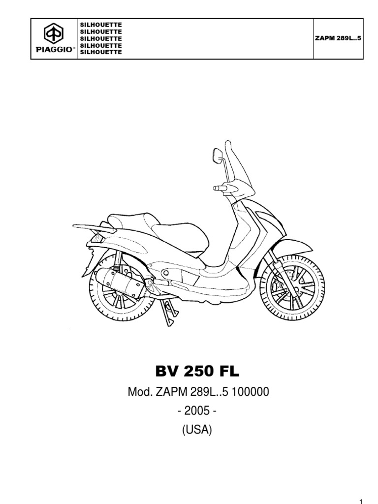 Manuale Piaggio Beverly 250