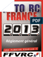 Reglement General 2013