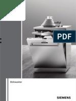 Siemens Dishwasher Manual