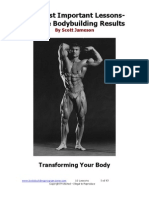 10 Lessons on Body Building