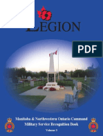 Military Service Recognition Book Vol.III (Manitoba and North Western Ontario)
