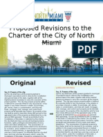 North Miami Charter Proposed Revisions, January 2013