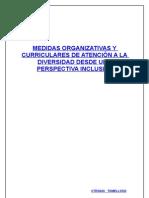 Medidas curriculares y organizativas para una escuela inclusiva