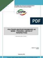 Politiques Macroeconomiques Progres Limites Perspectives-2