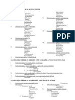 CLASIFICAREA REMEDIILOR ANTIPROTOZOICE