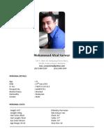Afzal Sarwar 2013- Profile Updated