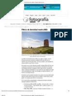 Filtros de densidad neutra (ND) _ Fotografía Microsiervos