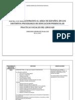 PROGRAMAS DE EDUCACIÓN PREESCOLAR