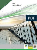 Prospectiva de Energías Renovables Mexico 2012 - 2016