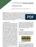 Durability of GFRP Reinforcement Bars