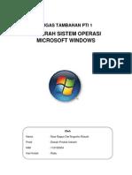 Sejarah Sistem Operasi Windows