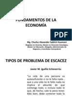 FUNDAMENTOS DE LA ECONOMÍA-MG. CHARLES ALEXANDER SABLICH HUAMANI