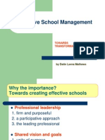 effective school mgmt