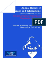 Annual Review of CyberTherapy and Telemedicine, Volume 2, Summer 2004
