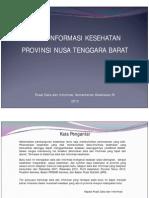 Profil Kesehatan NTB
