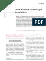 anestesia cirugía maxilofacial estomatología emc