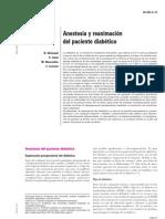 anestesia paciente diabético emc