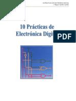 10 PRACTICAS DE ELECTRONICA DIGITAL