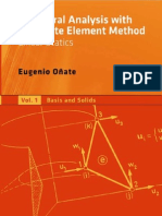 Structural Analysis with the Finite Element Method; Linear Statics Volume 1, Basis and Solids_E.Oñate