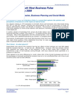 South West Business Pulse Jan09 Summary Report