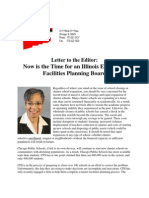 Letter to the Editor-Education Facilities Planning Board