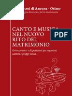 Canto e Musica Nel Rito Del Matrimonio