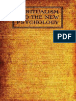 Bbb Spiritualism and the New Psychology