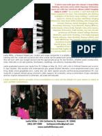 Leslie Miller 2013 Jazz Portfolio