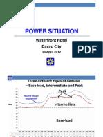 Mindanao Power Situation