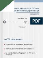 La enseñanza con el apoyo de las TIC