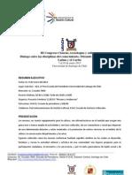 Programa general Simposio Comunicación, Museos y Gestión de la Cultura