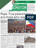 CBCP Monitor Vol. 17 No. 1