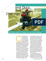 Ins and Outs of Pipeline Coatings Used to Protect Oil Pipelines